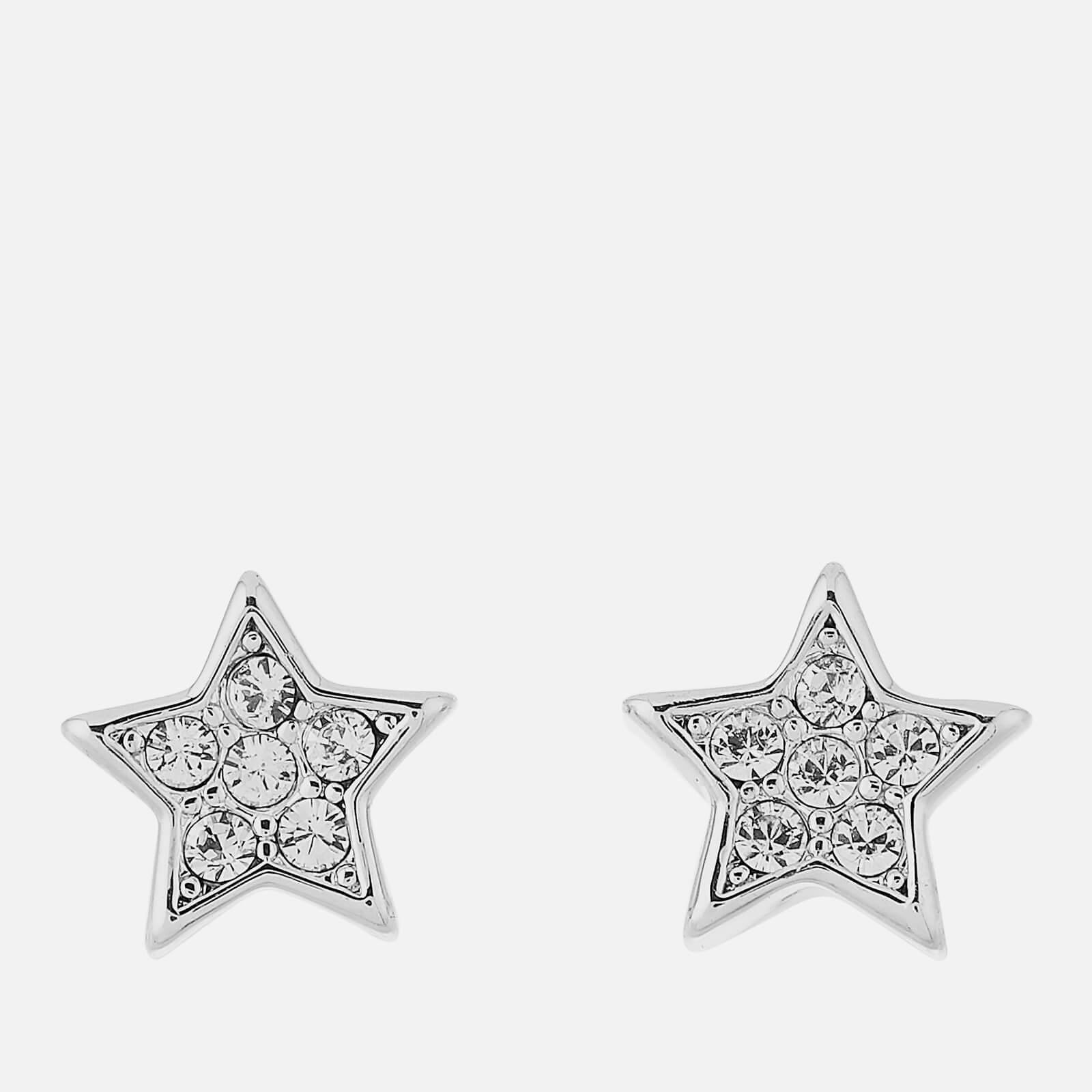 Ted Baker Women's Safire Pavé Shooting Star Stud Earrings - Silver/Crystal