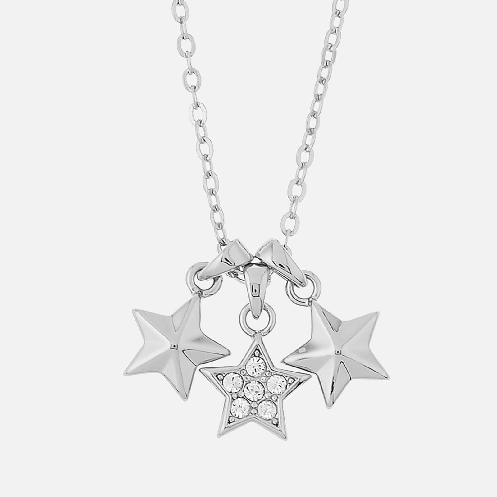 Ted Baker Women's Shami Pavé Shooting Star Cluster Pendant - Silver/Crystal