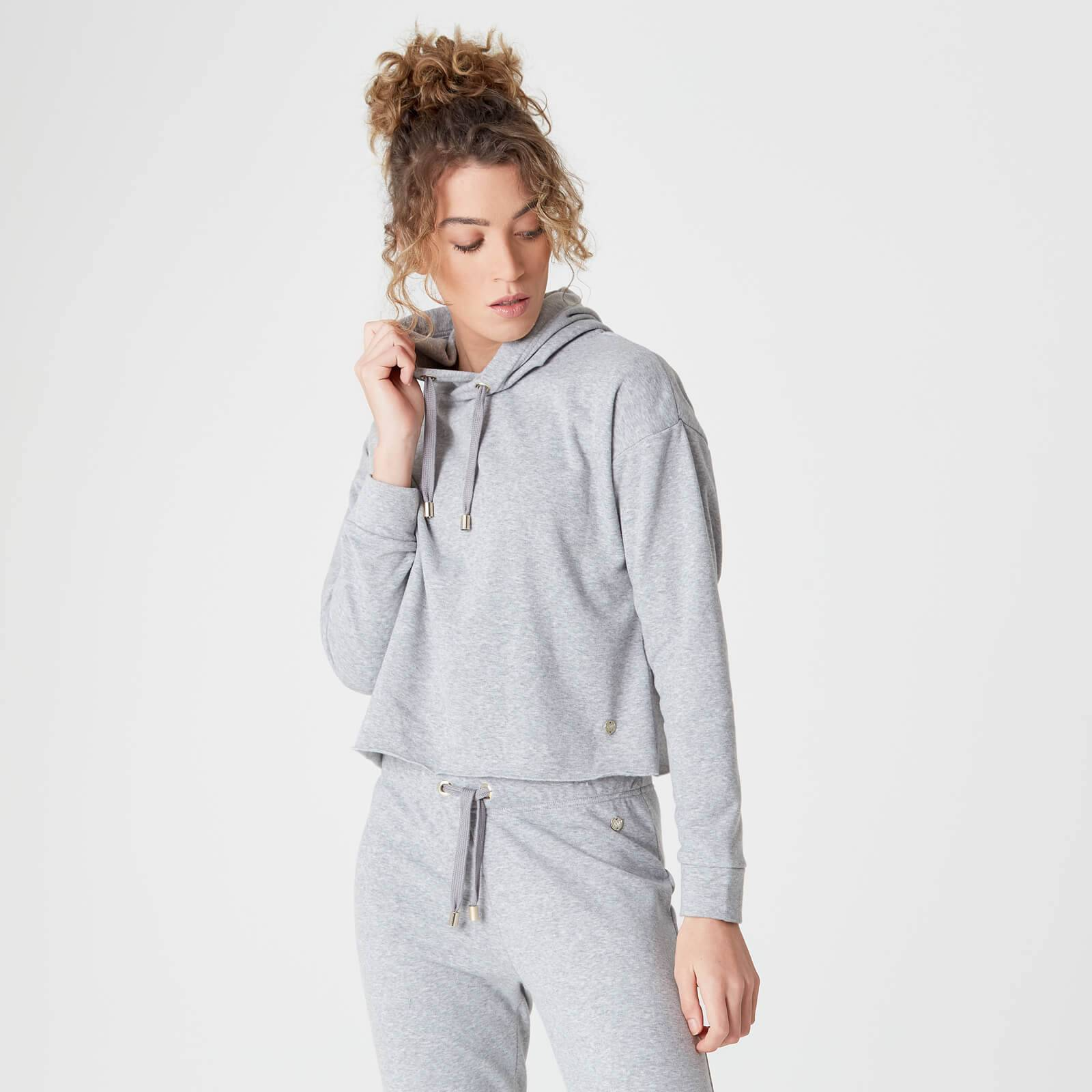 Myprotein Luxe Lounge Hoodie - Grey Marl - S