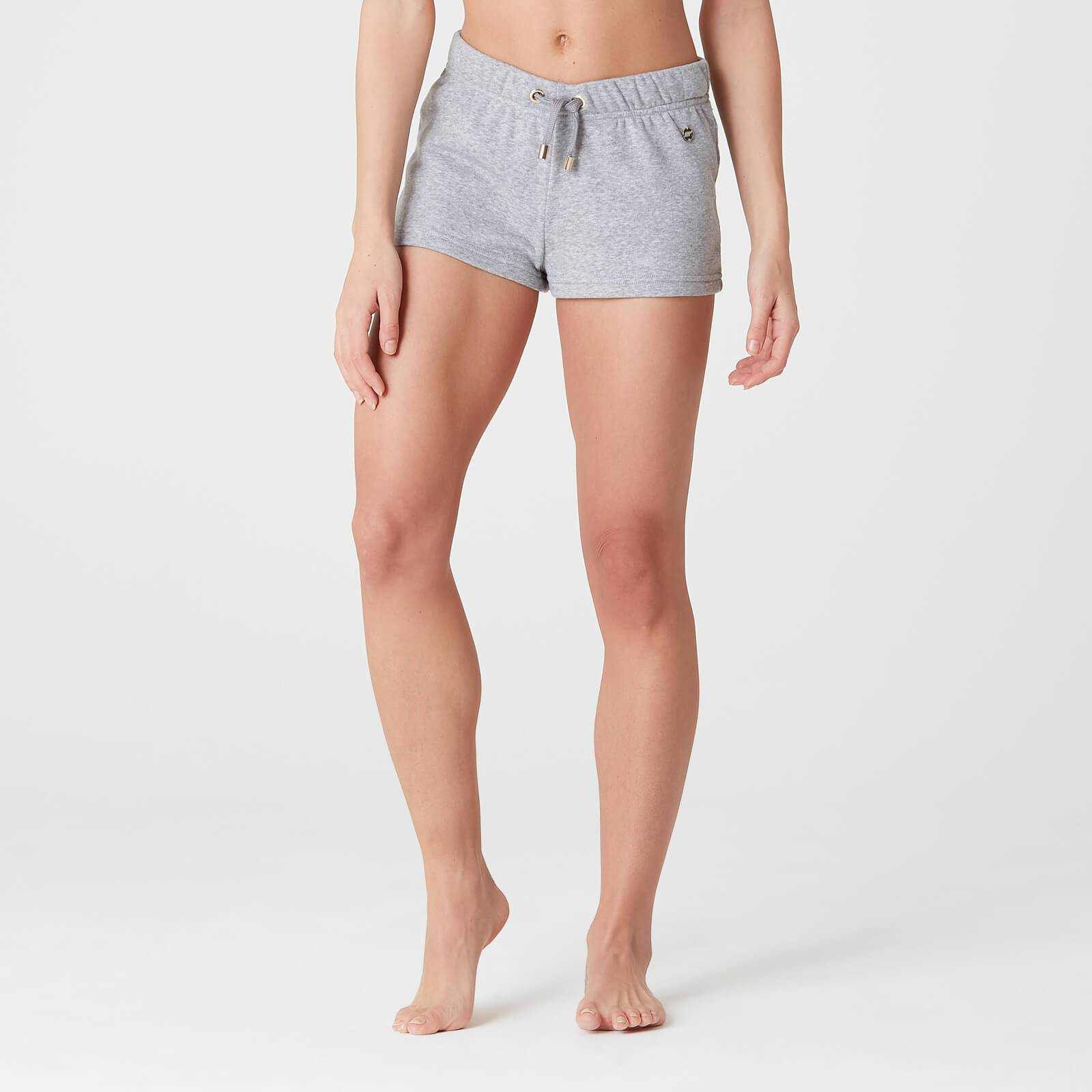 Myprotein Luxe Lounge Shorts - Grey Marl - S