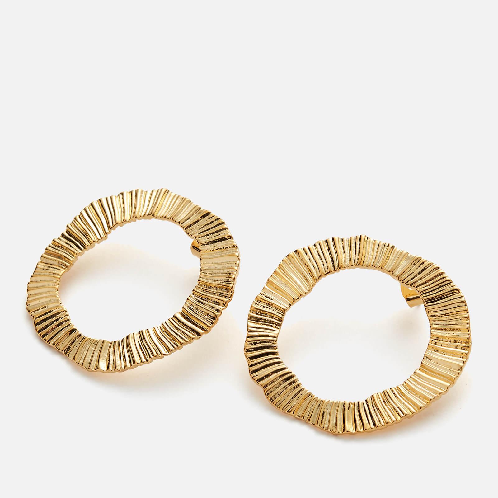 Whistles Women's Irregular Earrings - Gold