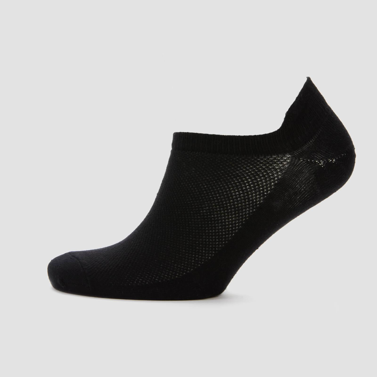 Myprotein MP Essentials Men's Ankle Socks - Black (3 Pack) - UK 6-8