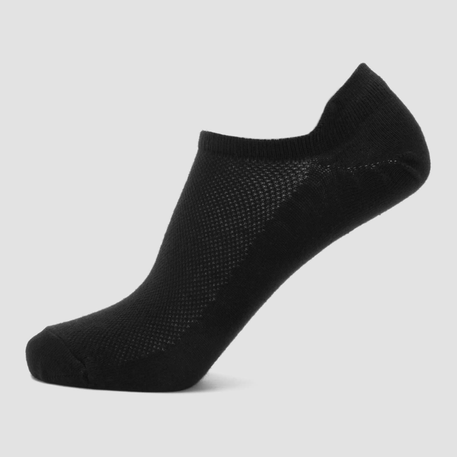 Myprotein MP Essentials Women's Ankle Socks - Black (3 Pack) - UK 3-6