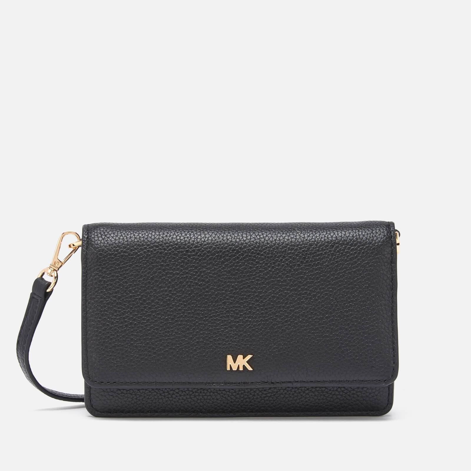 MICHAEL MICHAEL KORS Women's Crossbodies Phone Cross Body Bag - Black