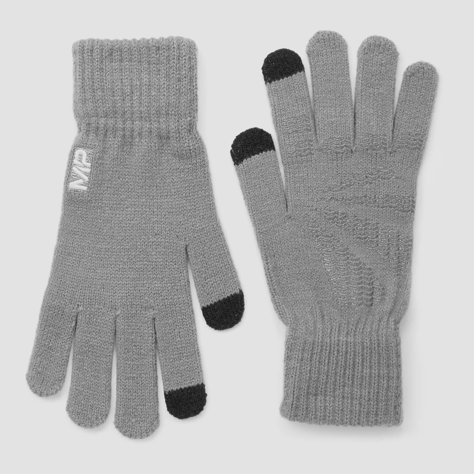 Myprotein MP Knitted Gloves - Grey - M/L
