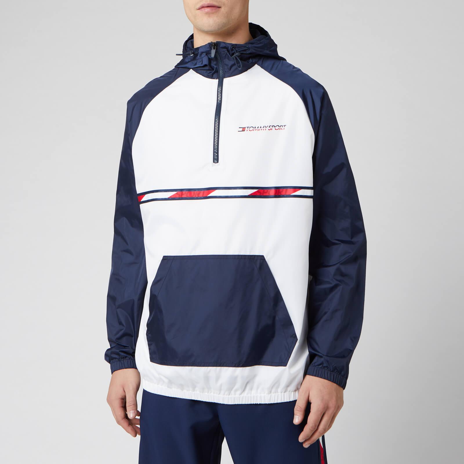 Tommy Sport Men's Woven Jacket - PVH White - XL