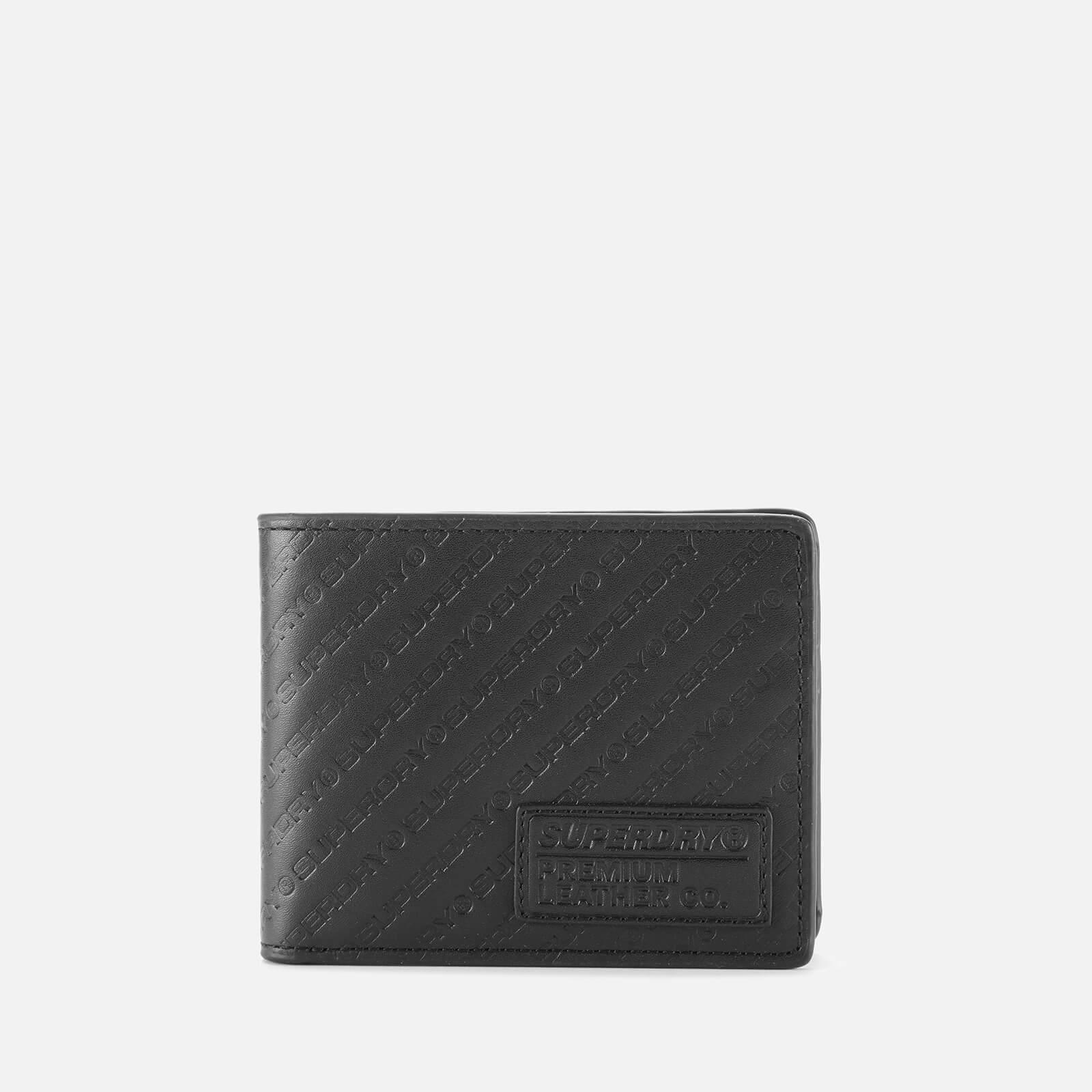 Superdry Men's All Over Print Badge Lineman Wallet - Black