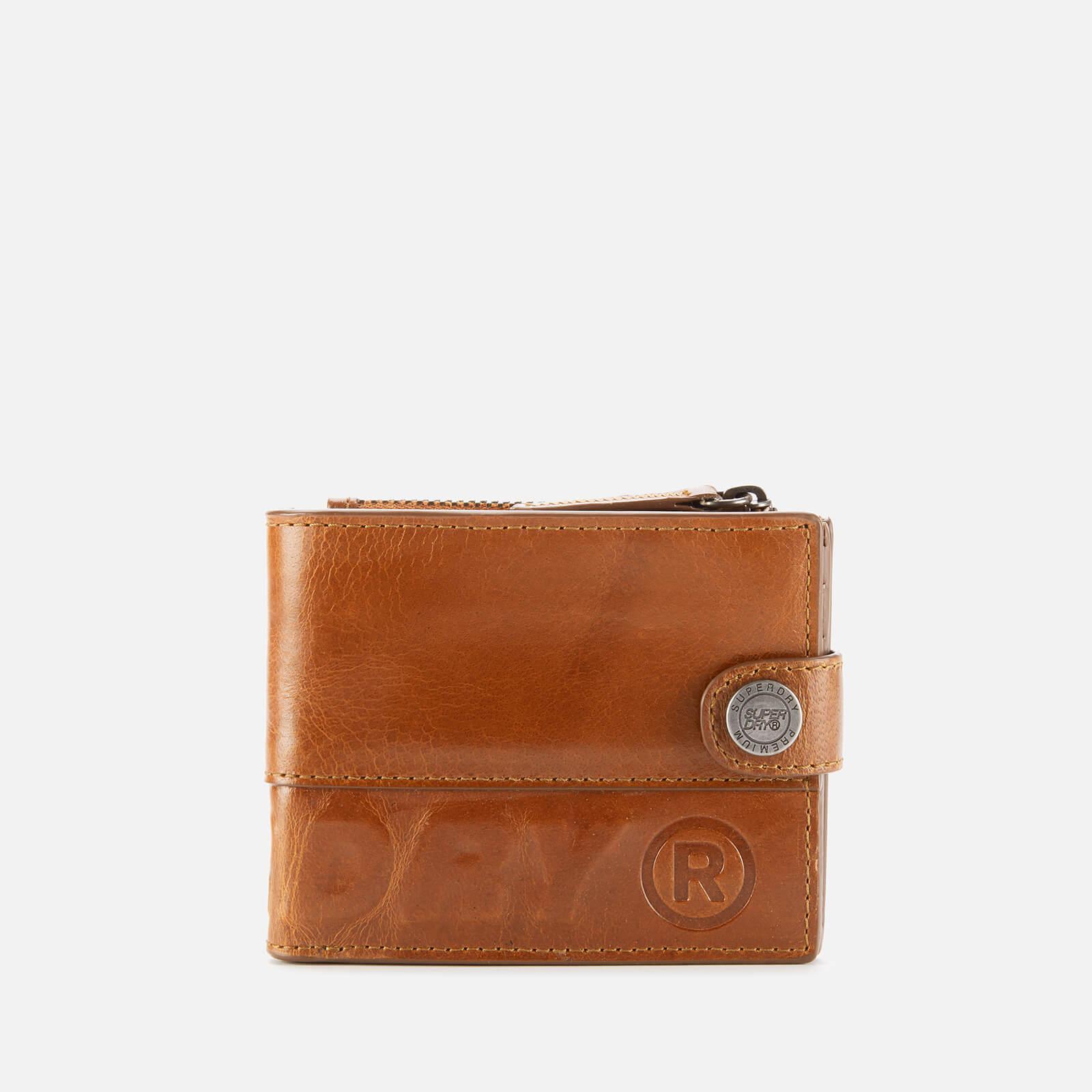 Superdry Men's Profile Leather Wallet - War Tan