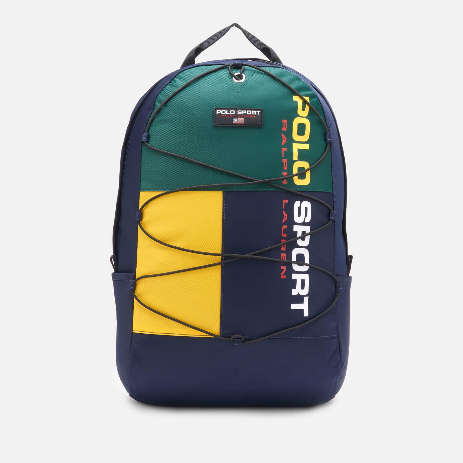 Ralph Lauren Polo Ralph Lauren Men's Polo Sport Backpack - Navy/Green/Yellow