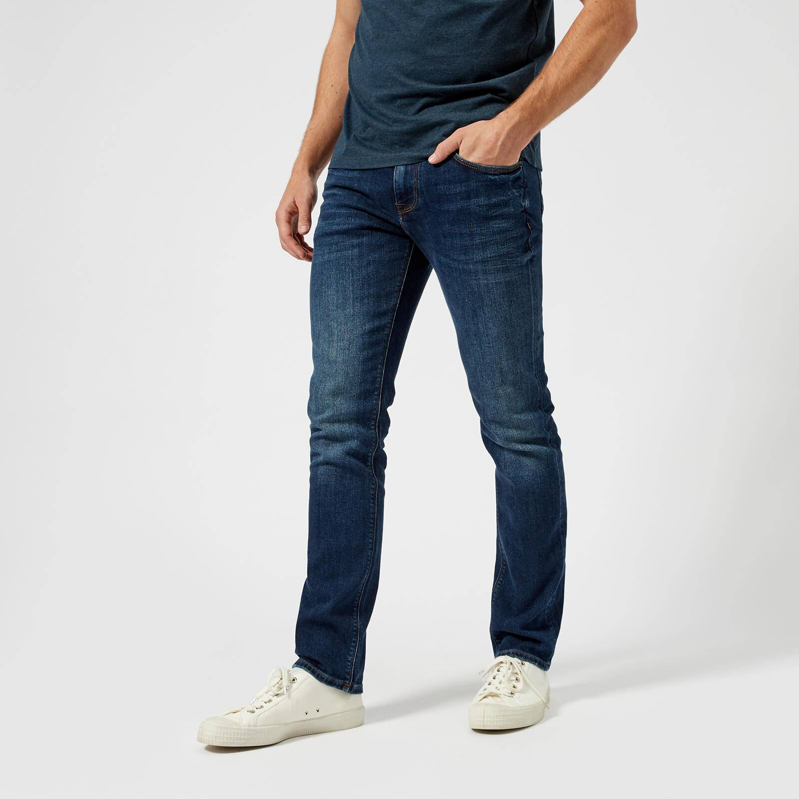 Tommy Hilfiger Men's Core Denton Straight Jeans - New Dark Stone - W32/L34
