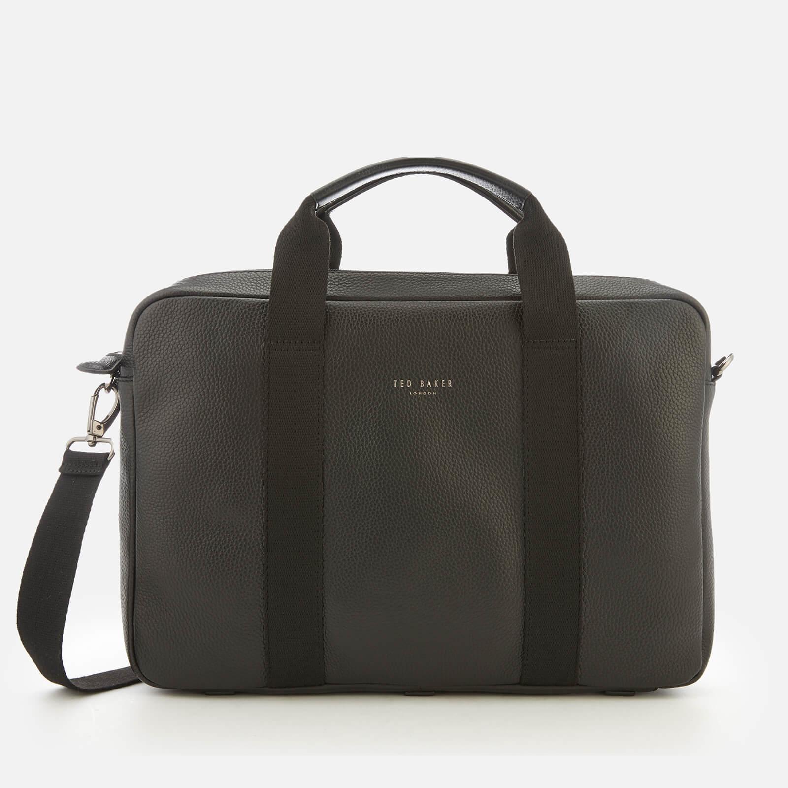 Ted Baker Men's Importa Leather Document Bag - Black