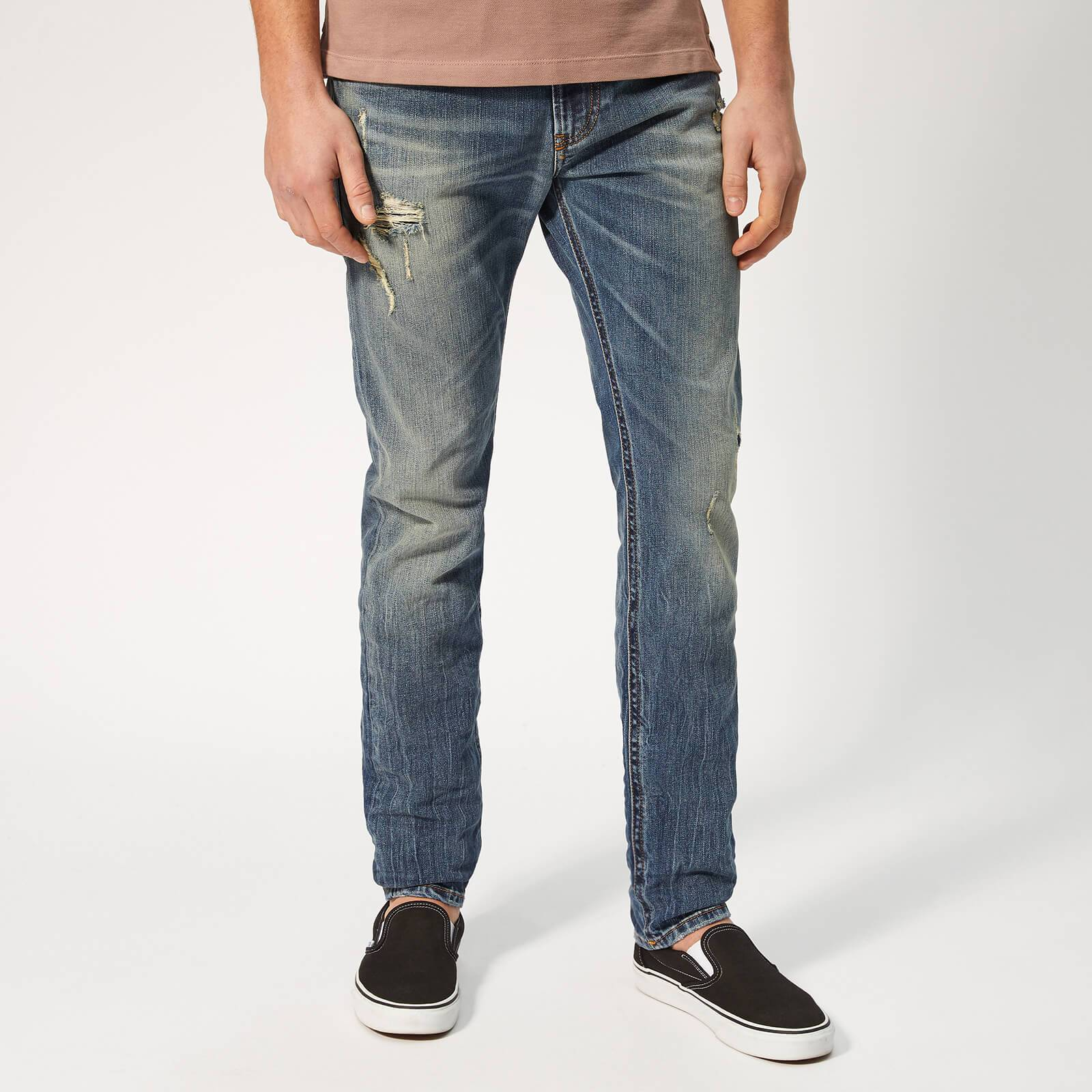 Diesel Men's Thommer Skinny Jeans - Blue - W34/L32 - Blue