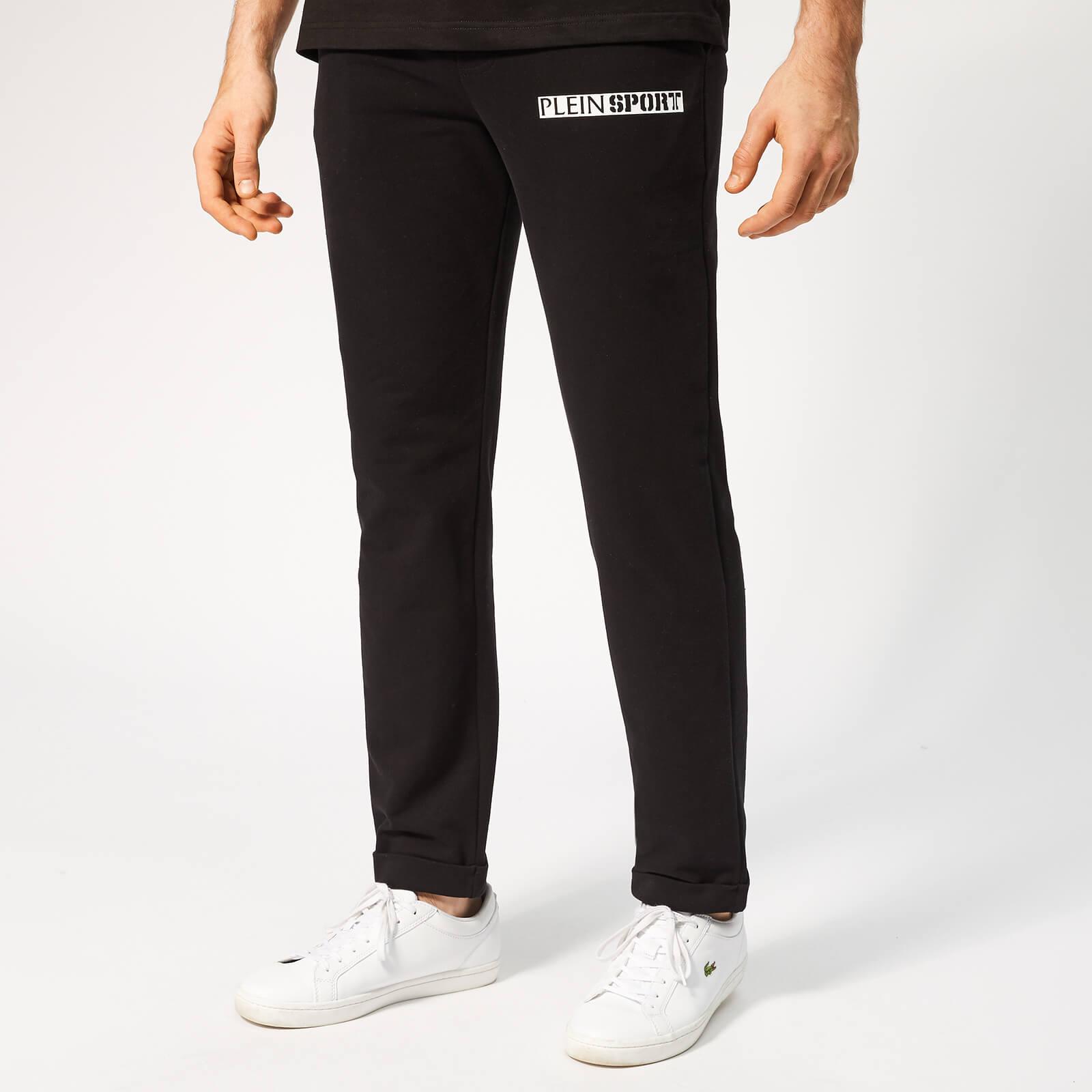 Plein Sport Men's Statement Jogging Trousers - Black - XL - Black