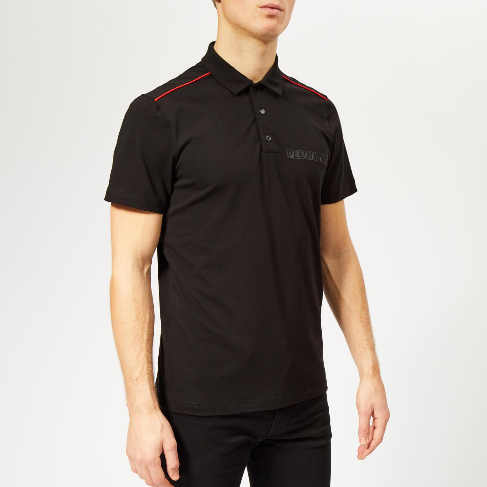 Plein Sport Men's Statement Polo Shirt - Black - S - Black