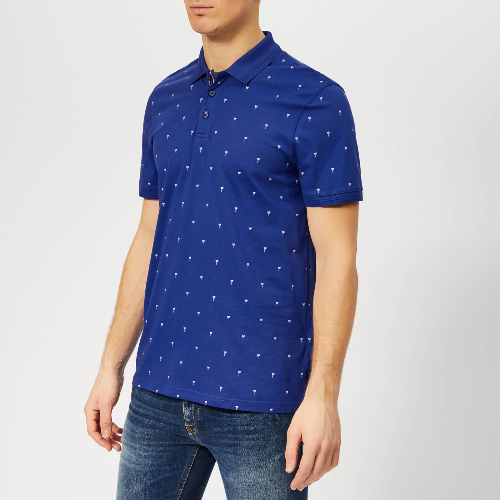 Ted Baker Men's Tuka Polo Shirt - Dark Blue - 4/L - Blue