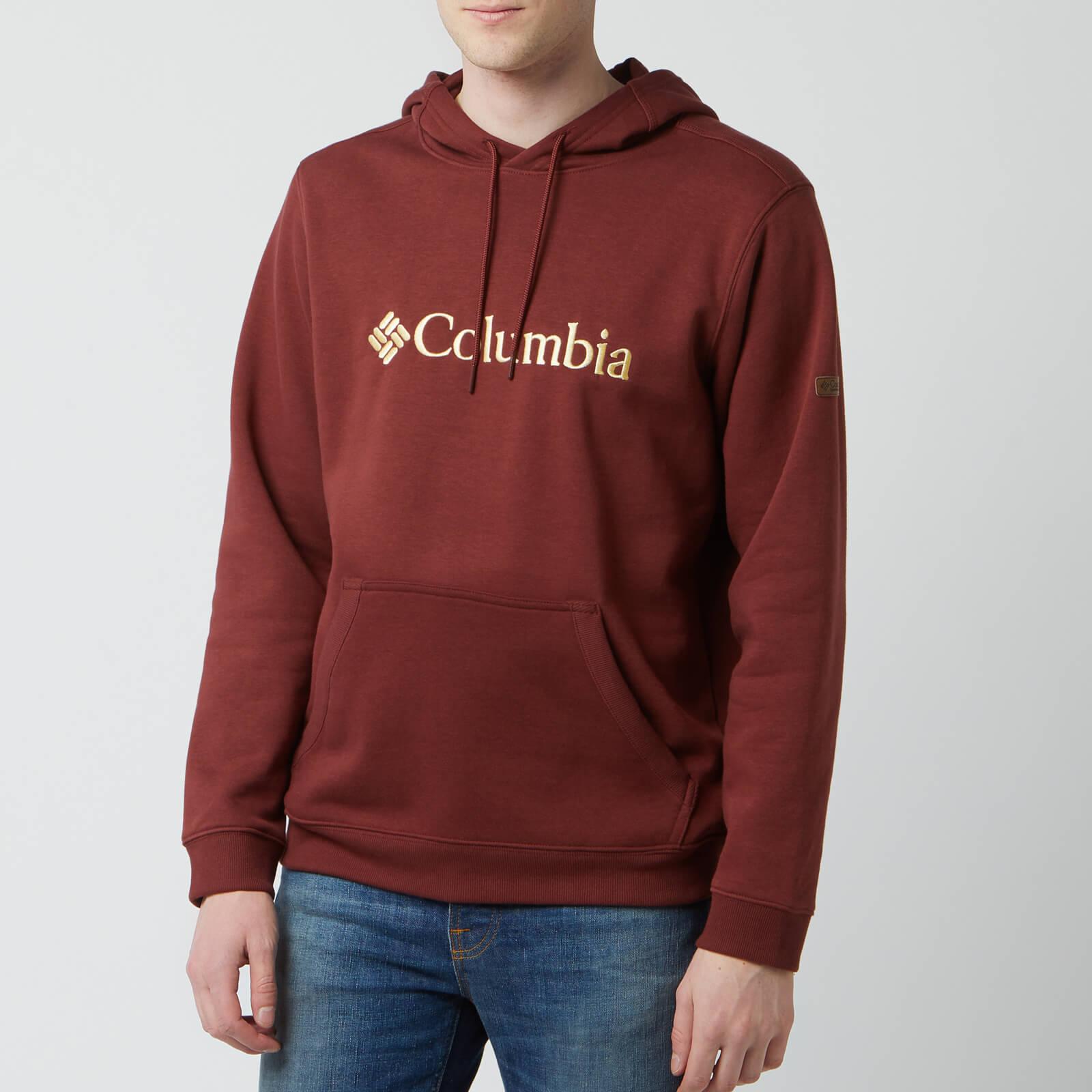 Columbia Men's CSC Basic Logo Hoodie - Tapestry - S - Red