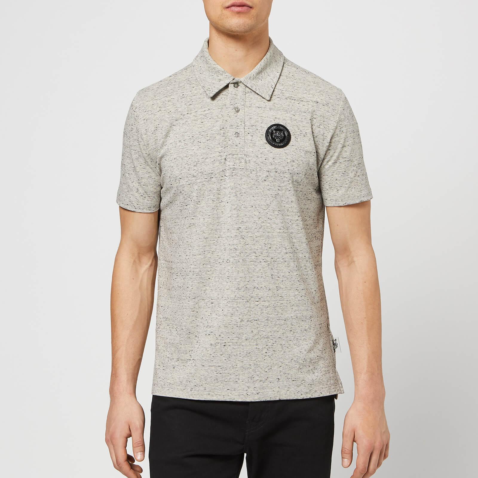 Plein Sport Men's Statement Polo Shirt - Grey - L - Grey