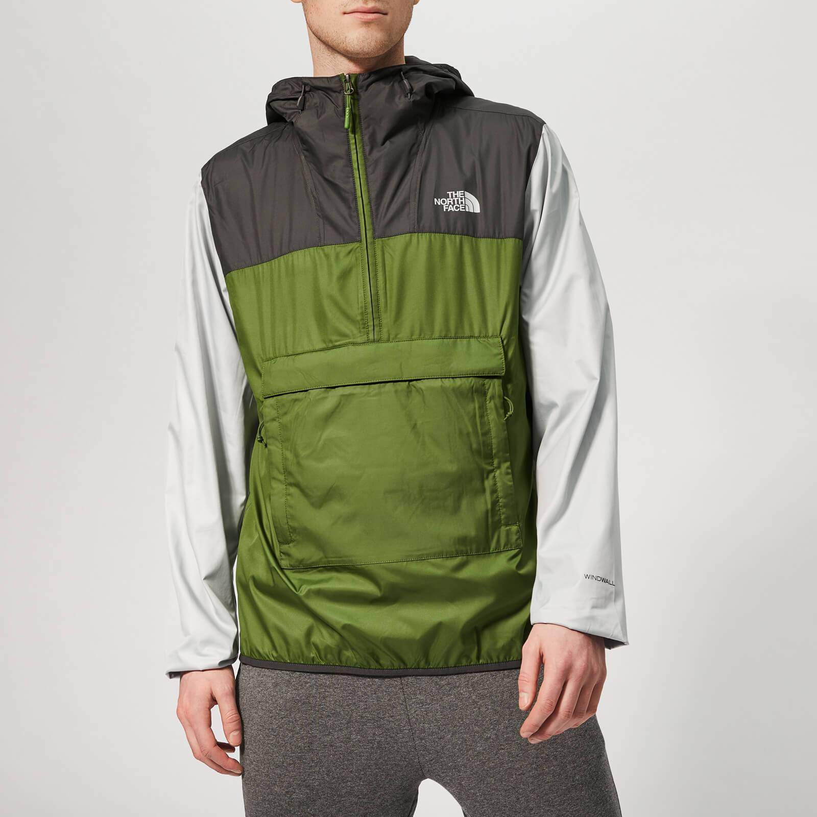 The North Face Men's Fanorak Jacket - Garden Green/Asphalt Grey - L