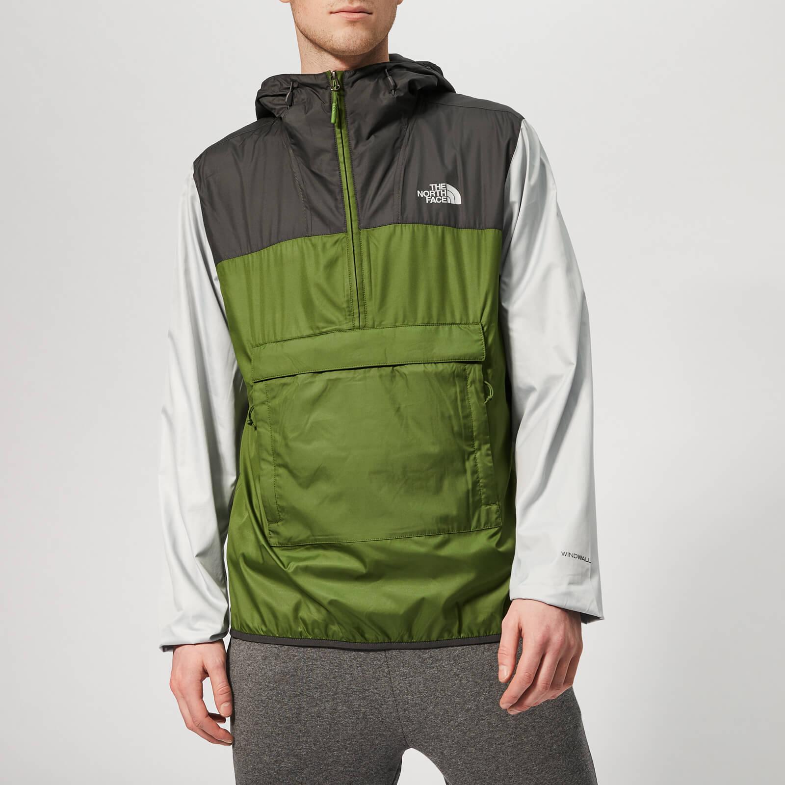 The North Face Men's Fanorak Jacket - Garden Green/Asphalt Grey - M