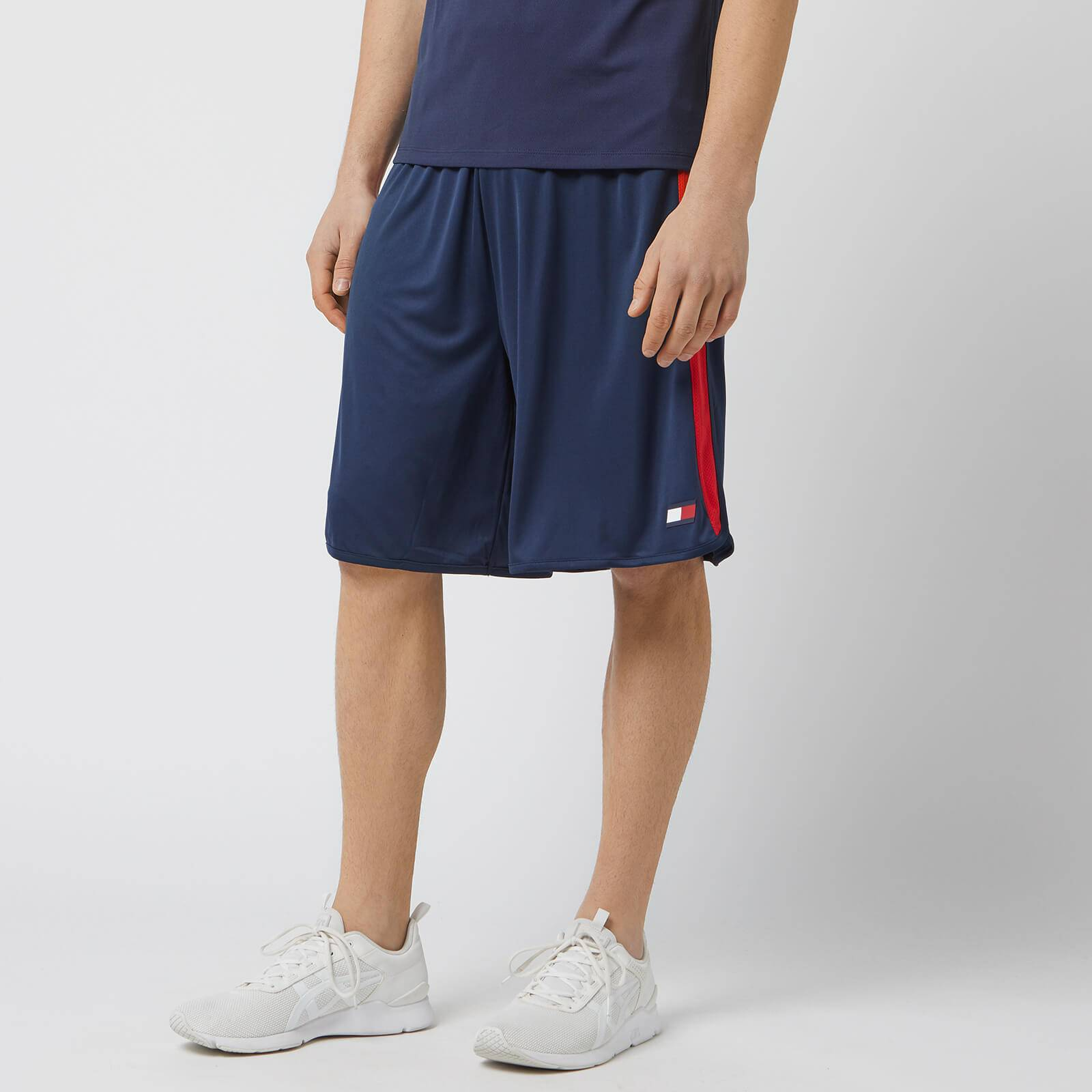 Tommy Hilfiger Sport Men's Shorts With Mesh - Sport Navy - M - Blue