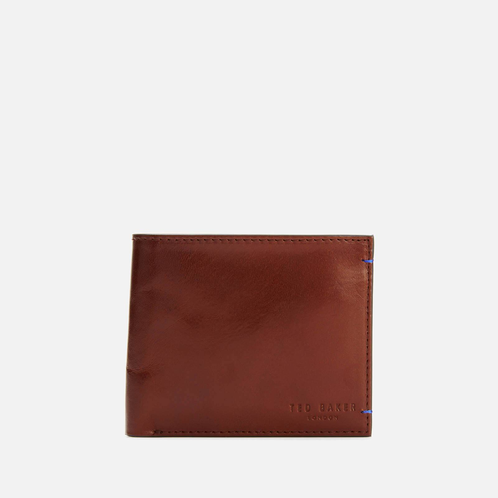 Ted Baker Men's Geaves Contrast Bi-Fold with Coin Slot - Tan