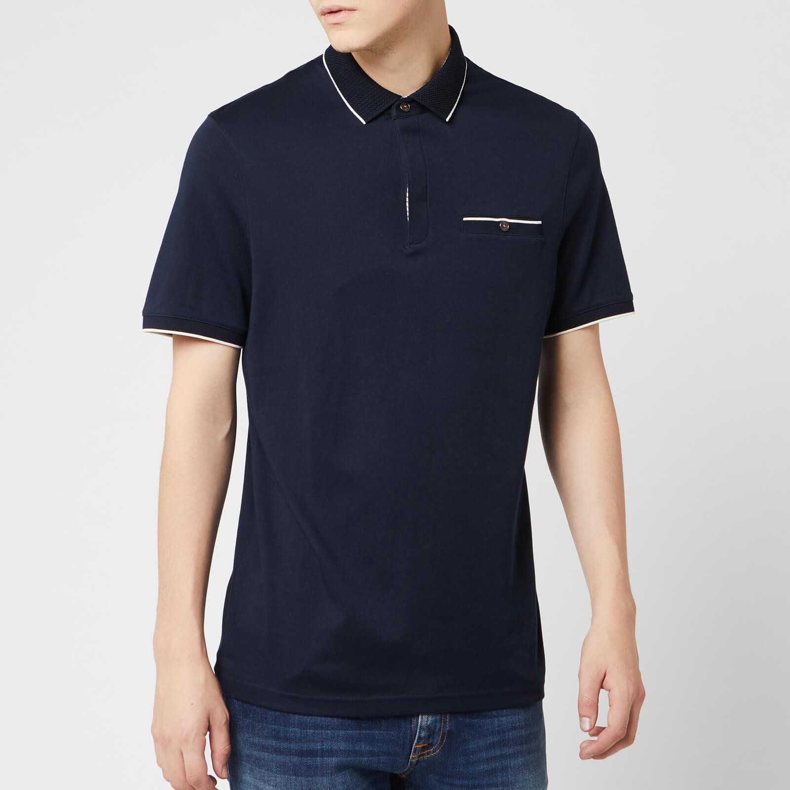 Ted Baker Men's Fincham Polo Shirt - Navy - S/2