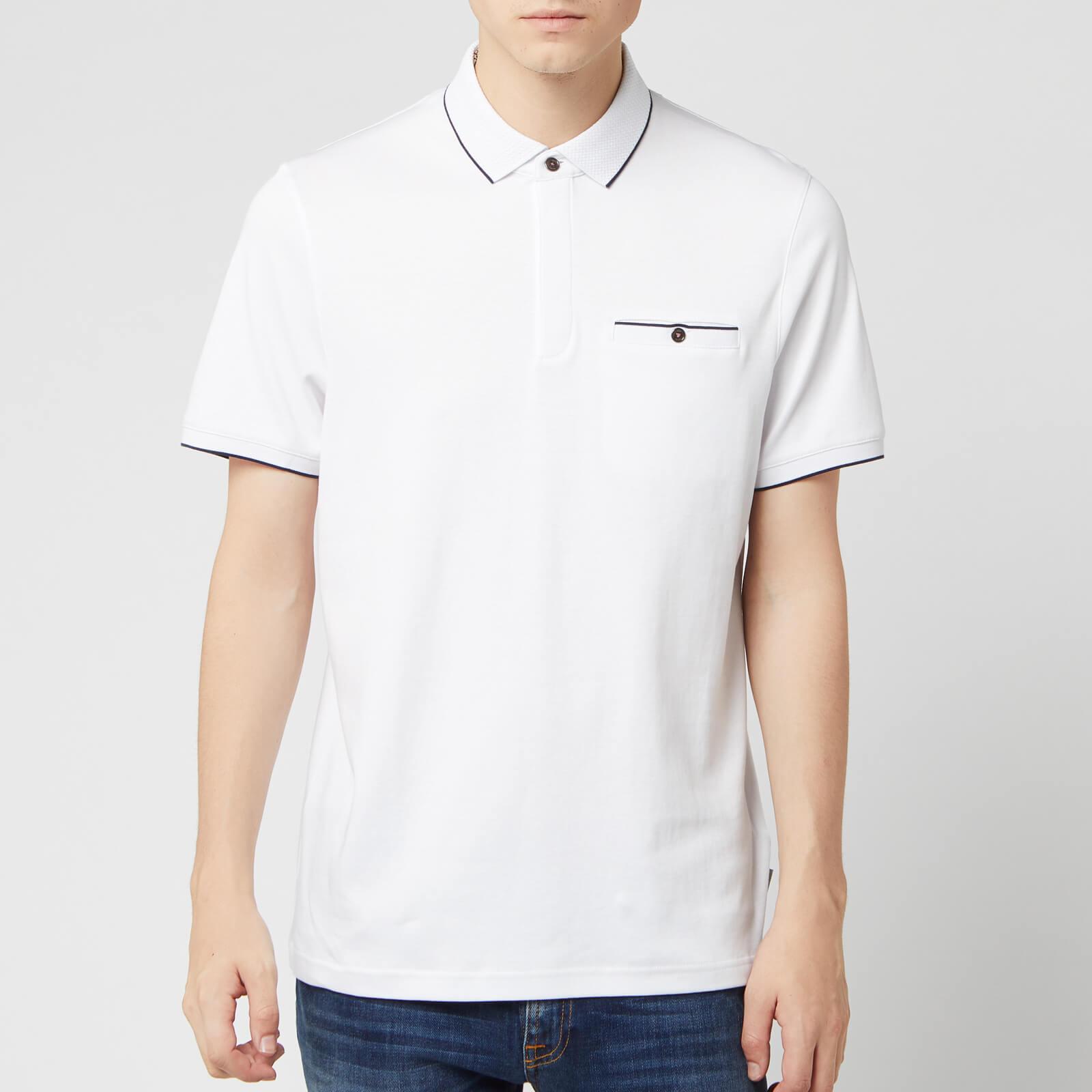 Ted Baker Men's Fincham Polo Shirt - White - L/4