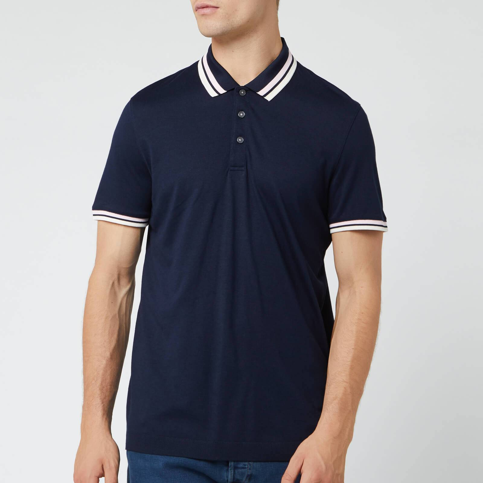 Ted Baker Men's Kazza Ribstart Polo Shirt - Navy - S/2