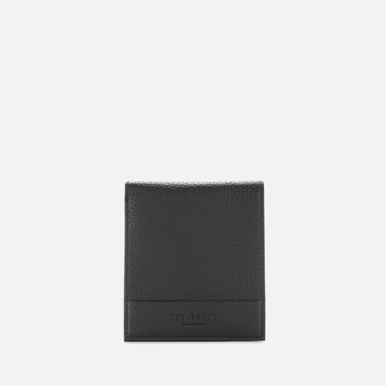 Ted Baker Men's Carabas Leather Bifold With Coin Holder - Black