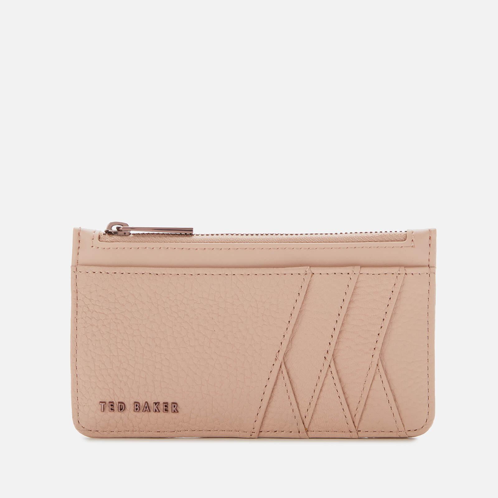 Ted Baker Women's Allexaa Zip Card Holder - Taupe
