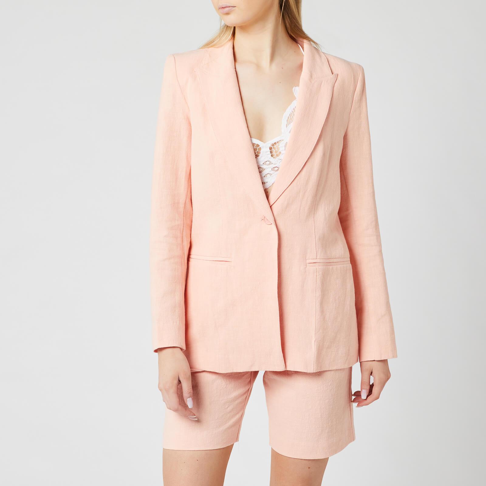 Bec & Bridge Women's Coral Club Jacket - Peach - UK 14
