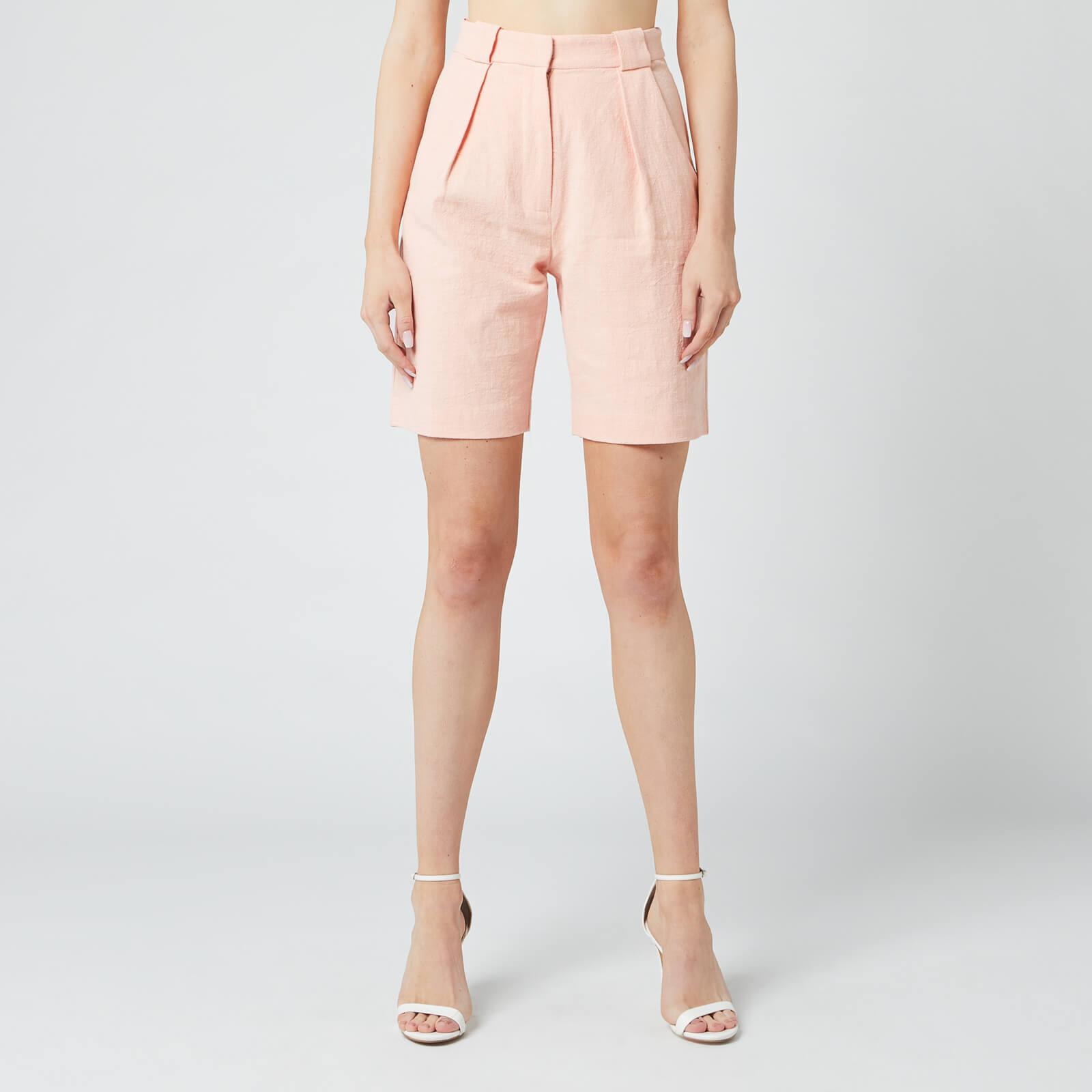 Bec & Bridge Women's Coral Club Shorts - Peach - UK 14