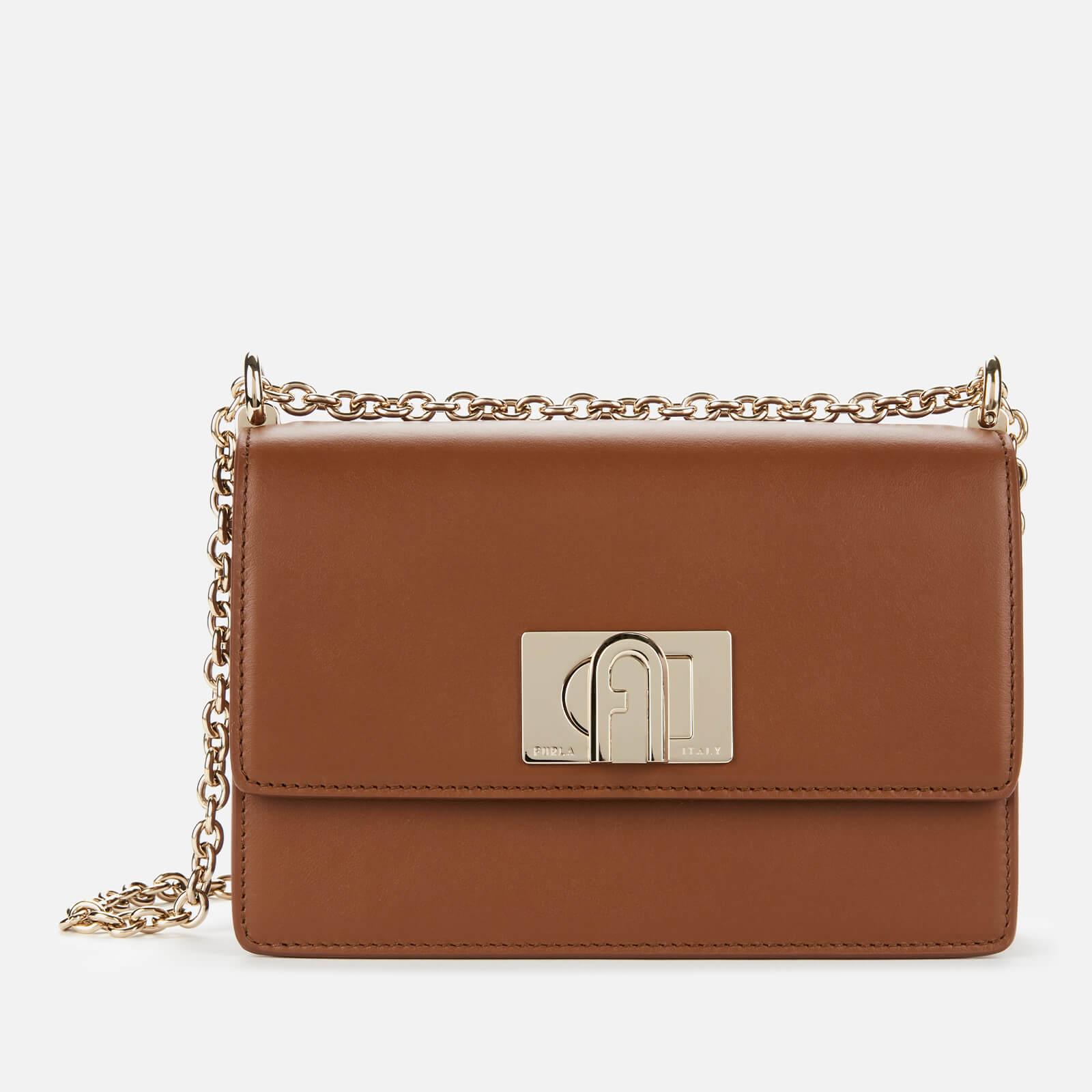 Furla Women's 1927 Mini Chain Cross Body Bag - Cognac