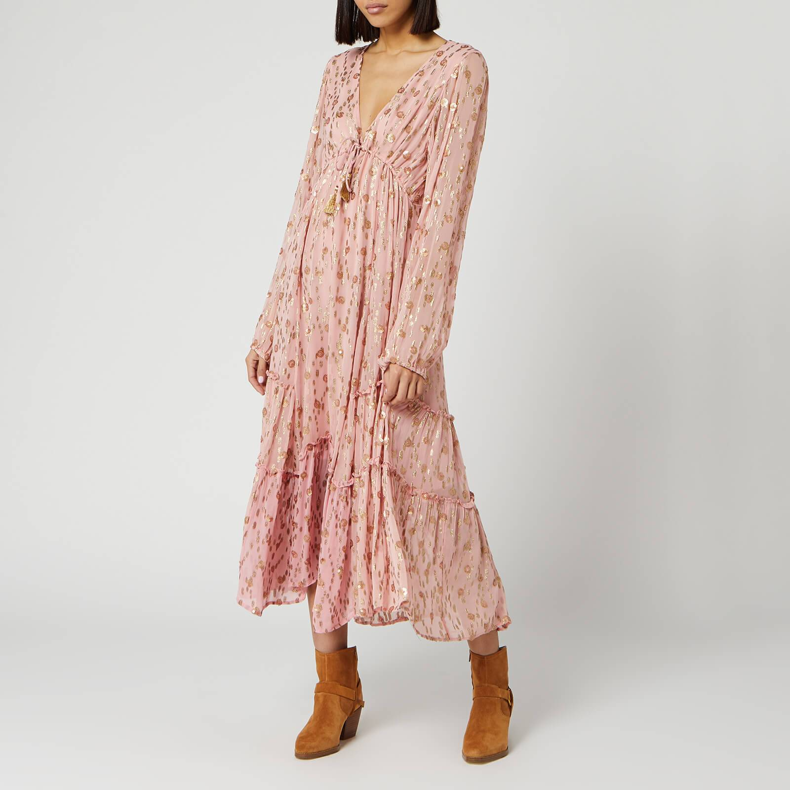 Free People Women's Celina Maxi Dress - Pink - M