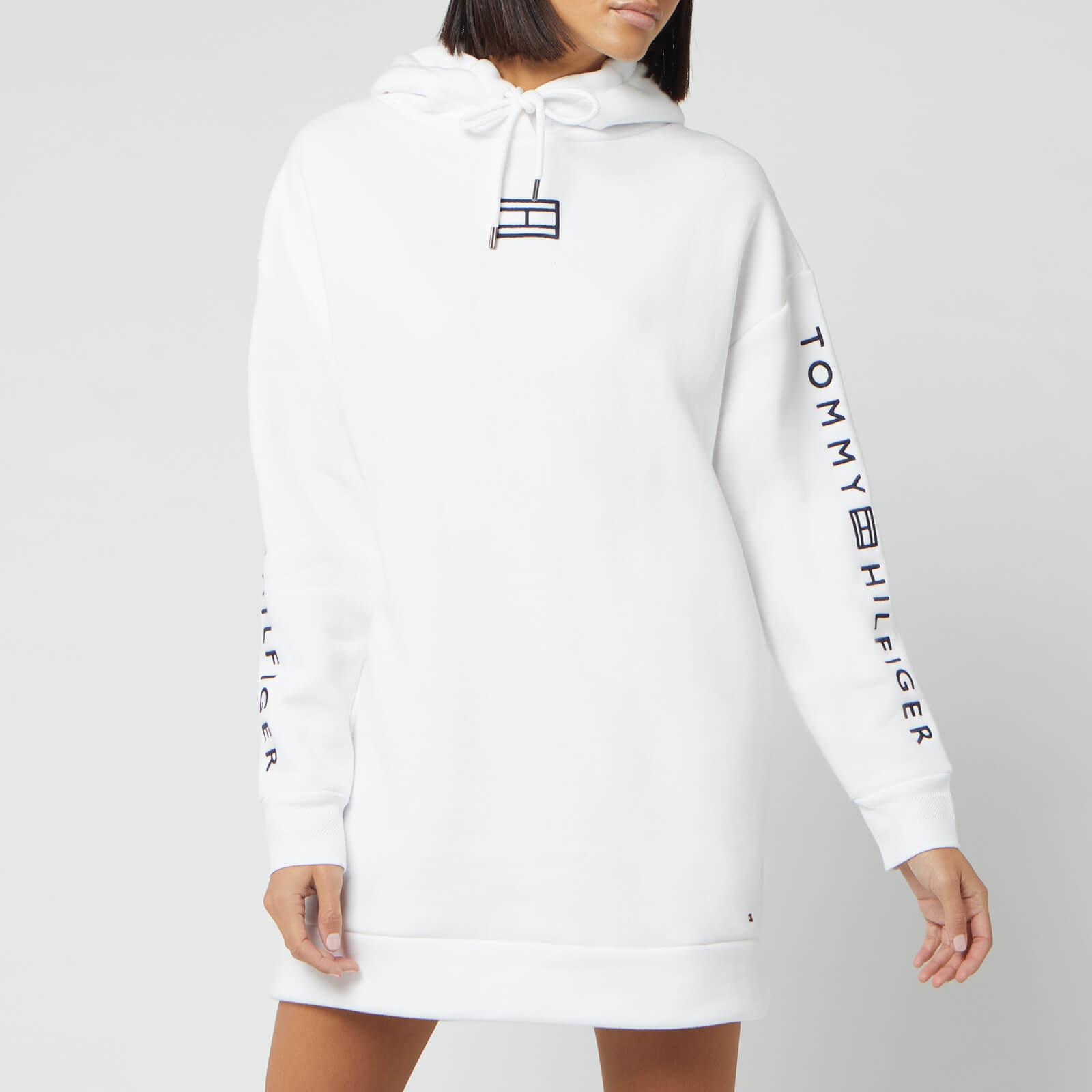 Tommy Hilfiger Women's Paloma Hooded Dress - White - L