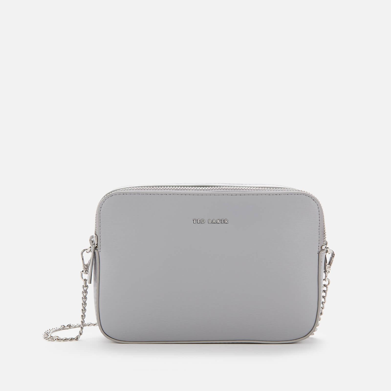 Ted Baker Women's Lauriie Double Zip Camera Bag - Light Grey
