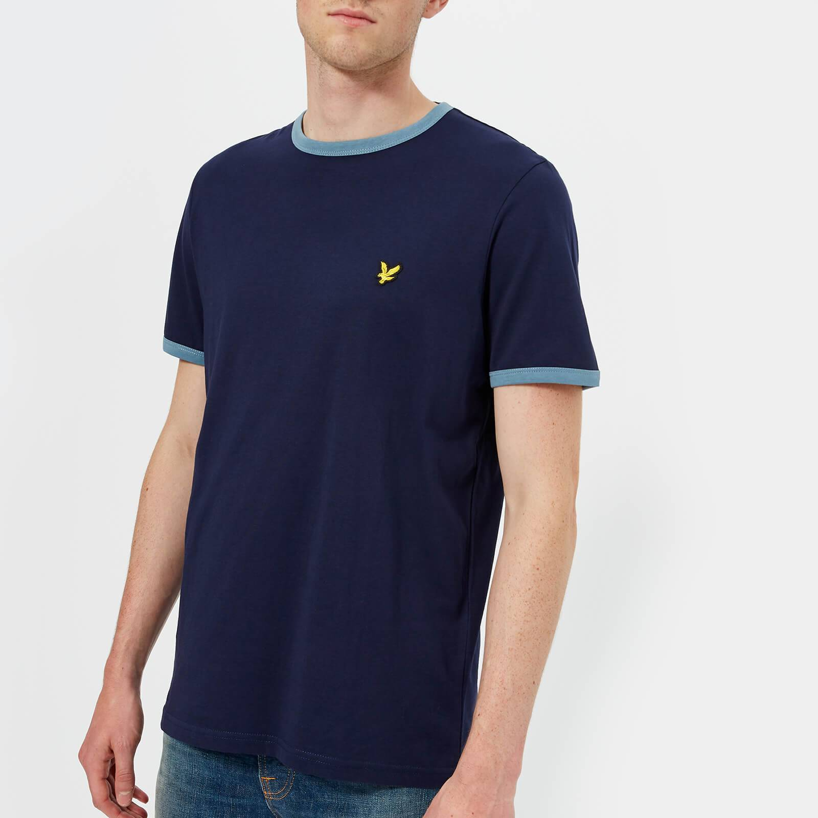 Scott Lyle & Scott Men's Ringer T-Shirt - Navy - XL - Navy