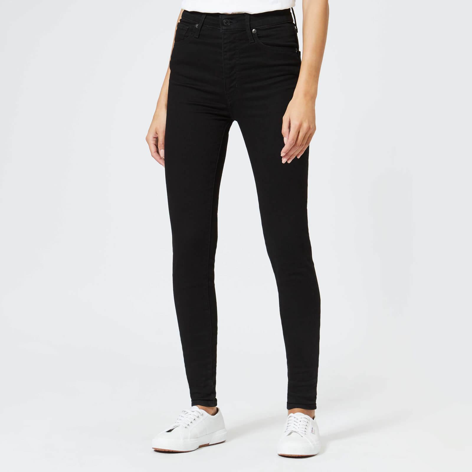 Levi's s Mile High Super Skinny Jeans - Black Galaxy - W28/L30