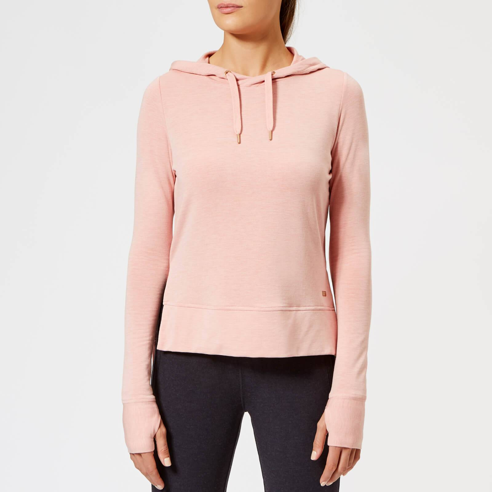 Superdry Sport Women's Active Studio Luxe Hoodie - Dusk Pink - UK 14 - Pink