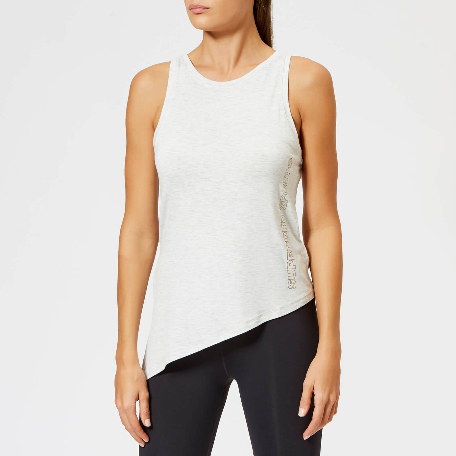 Superdry Sport Women's Active Studio Luxe Vest - Urban Grey - UK 14 - Grey