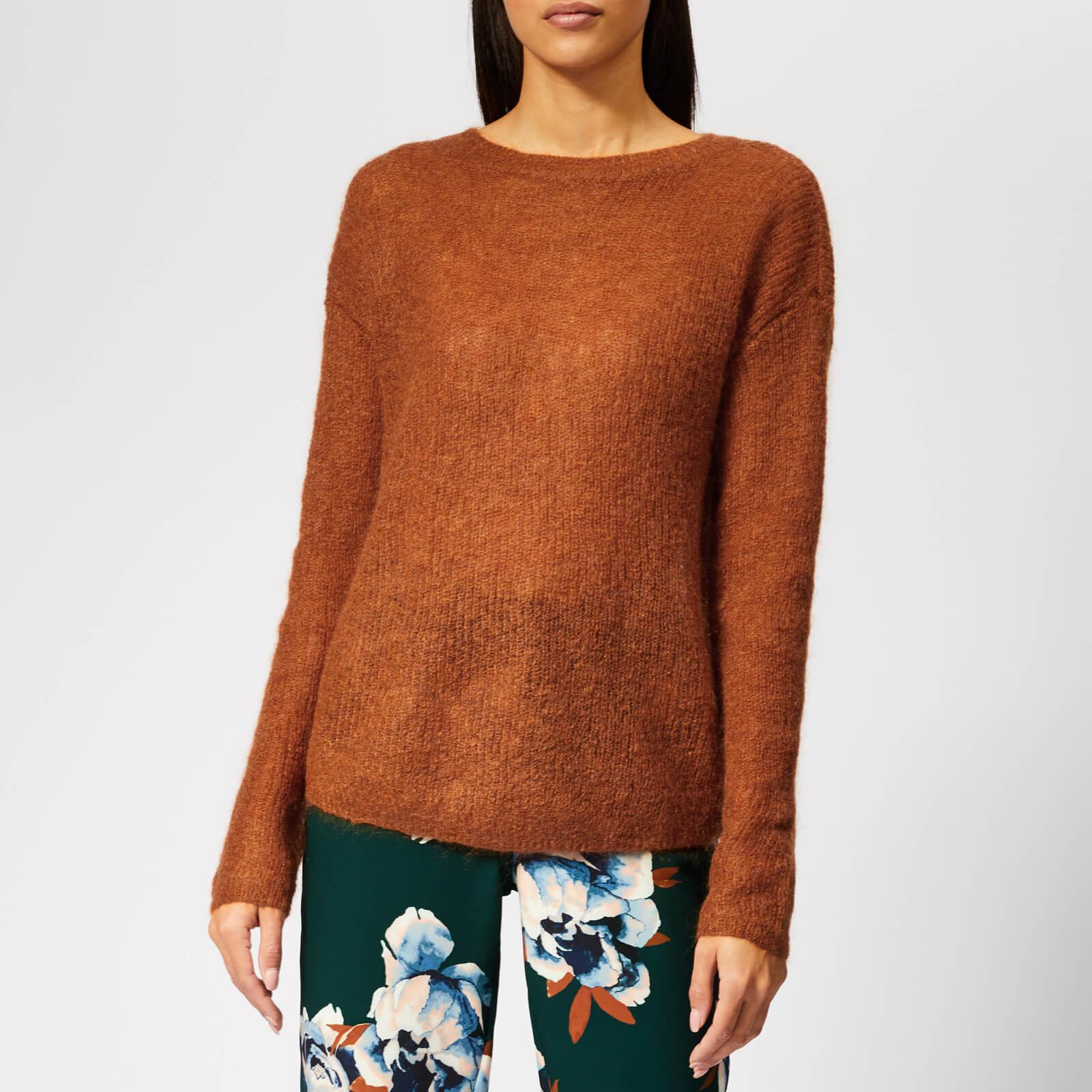 Gestuz Women's Molly Pullover Jumper - Gingerbread - S - Orange