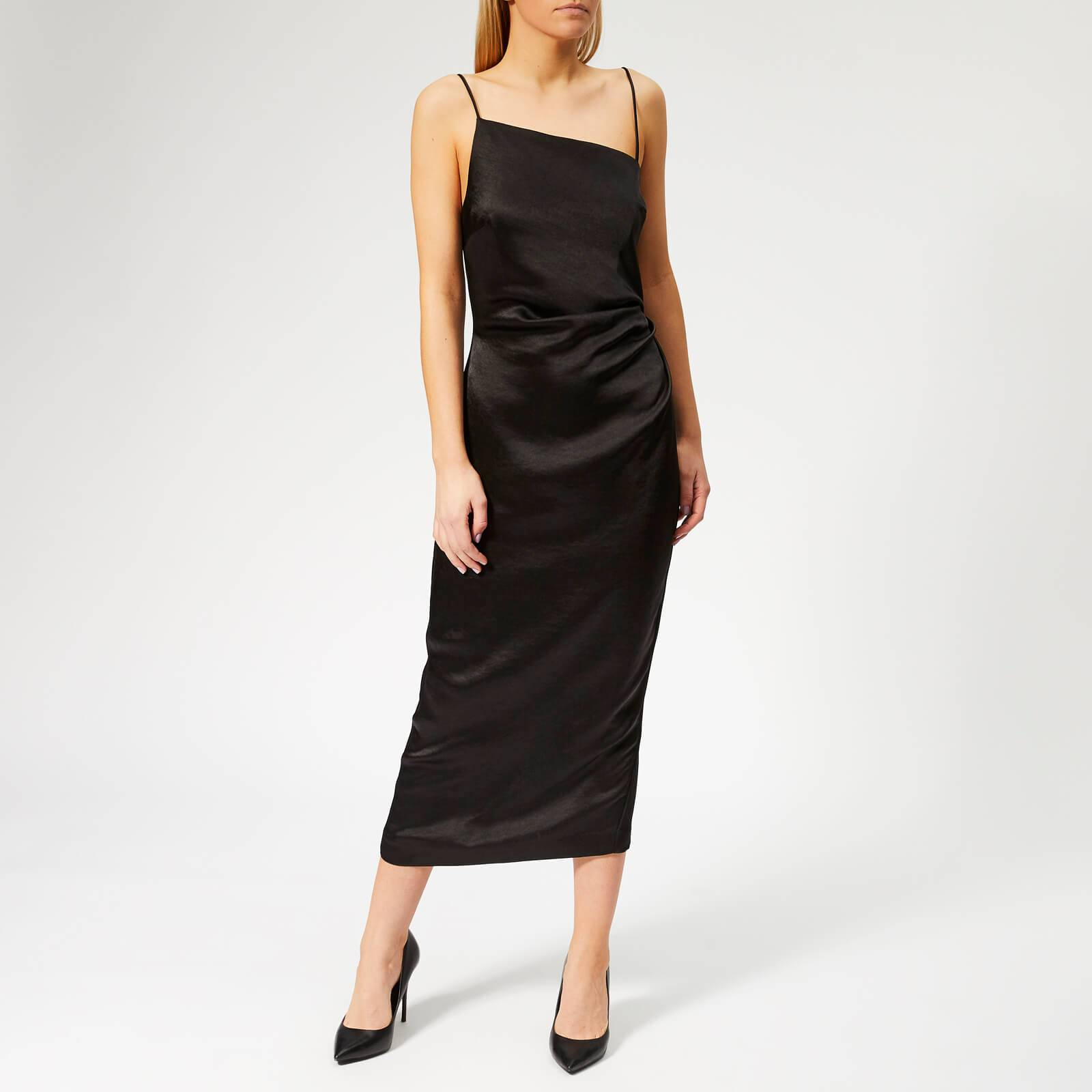 Bec & Bridge Women's Claudia Asymmetrical Dress - Black - UK 6 - Black
