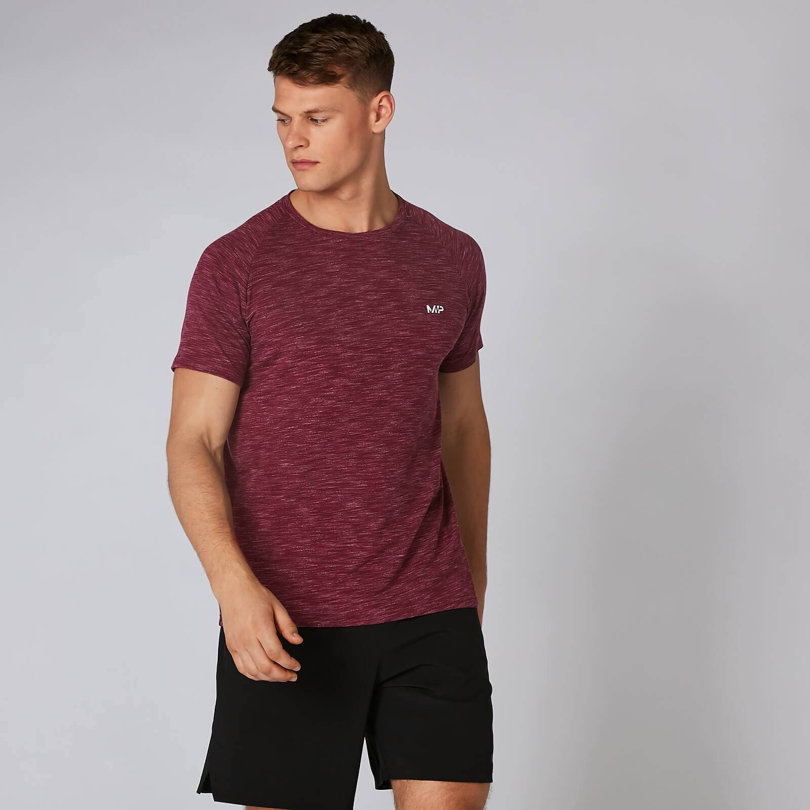 Myprotein MP Performance T-Shirt - Burgundy Marl - L