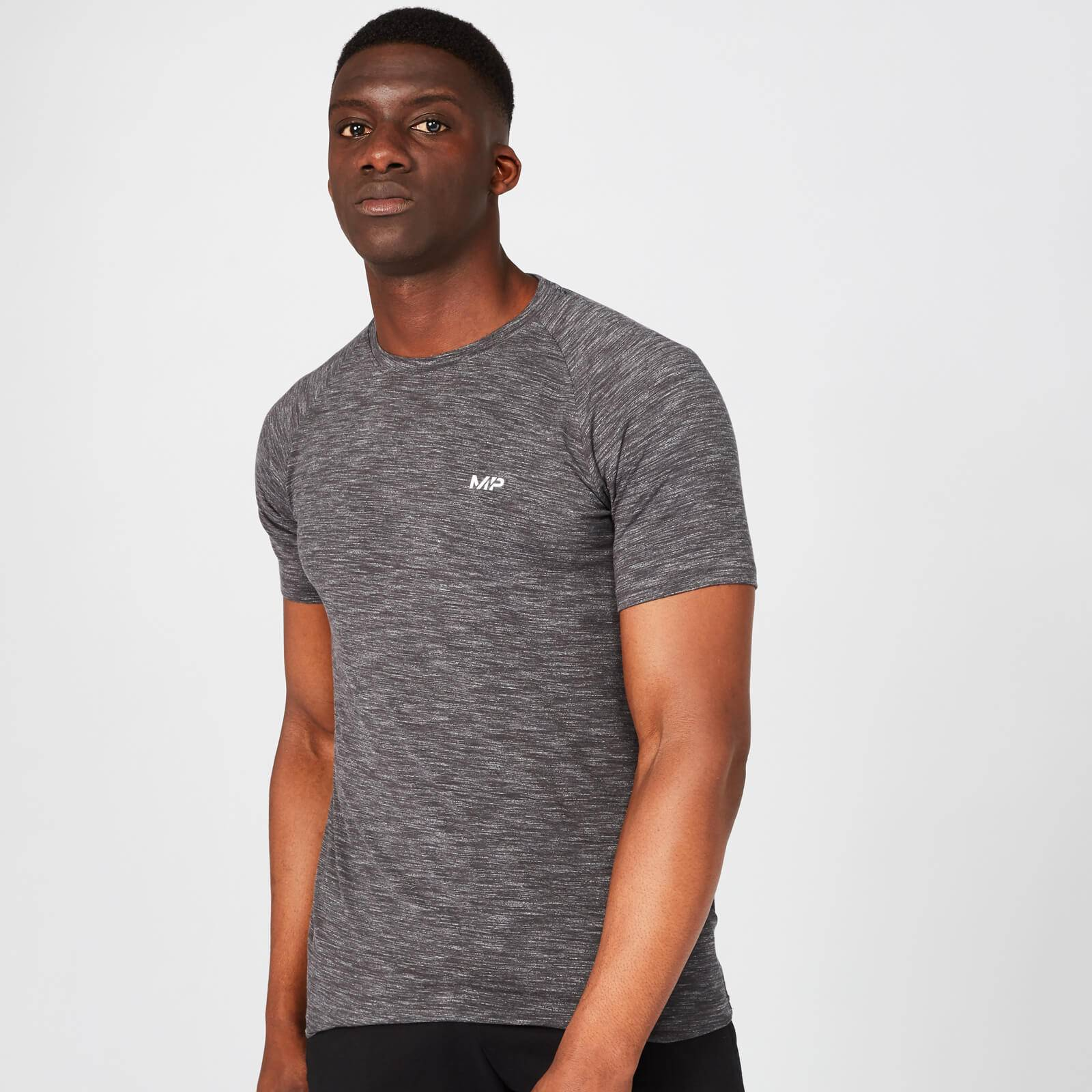 Myprotein MP Performance T-Shirt - Black Marl - XS