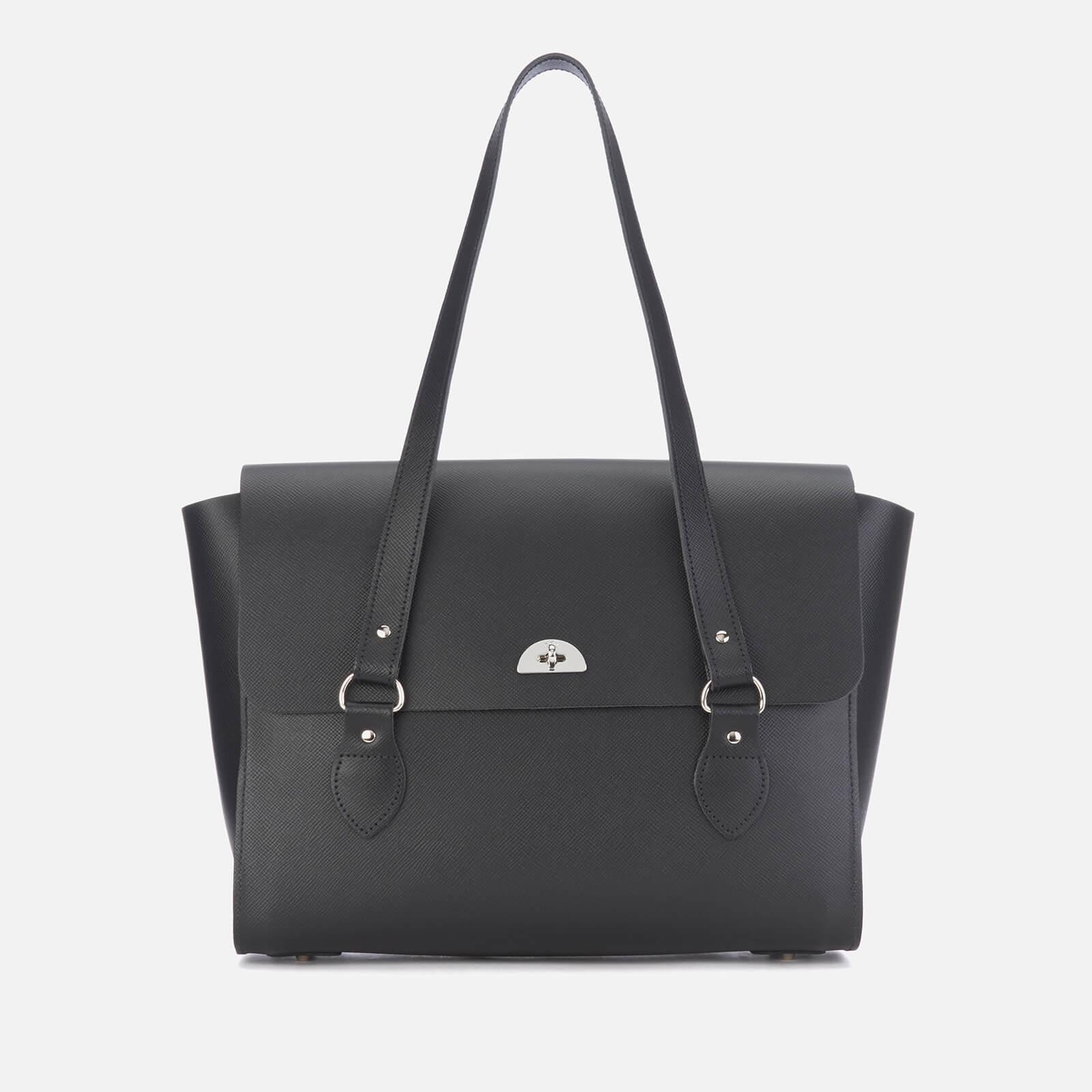 The Cambridge Satchel Company Women's Large Emily Tote Bag - Black