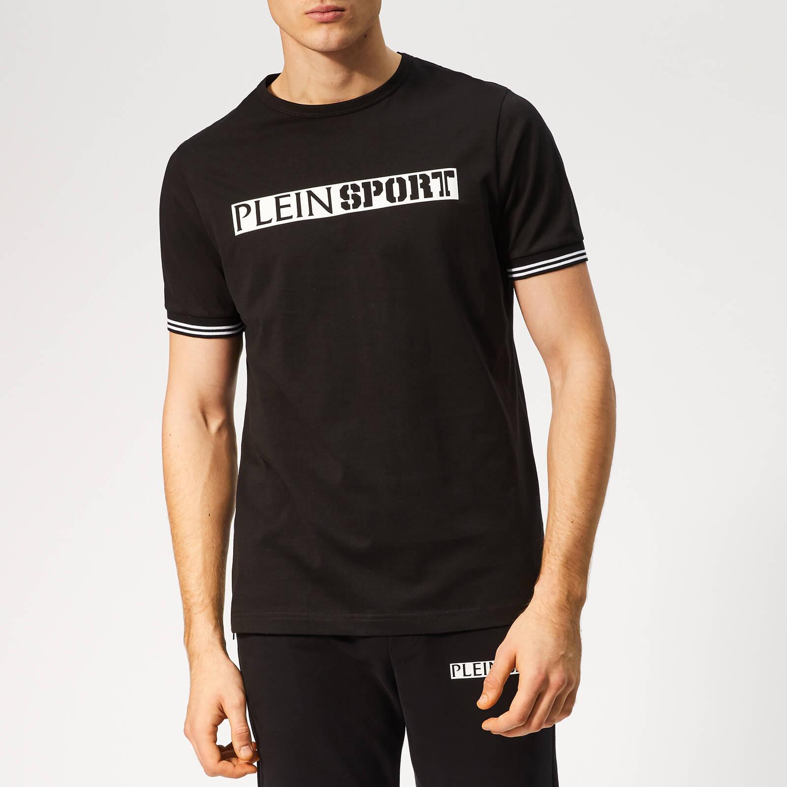 Plein Sport Men's Statement T-Shirt - Black/Black - M - Black/Black
