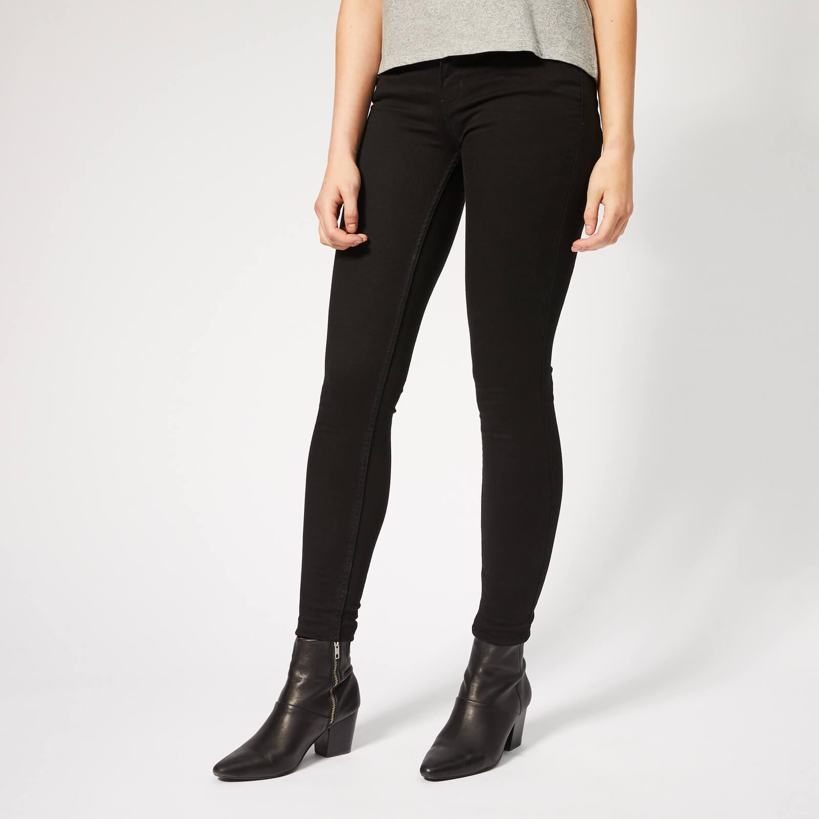 Levi's s Innovation Super Skinny Jeans - Black Galaxy - W26/L32