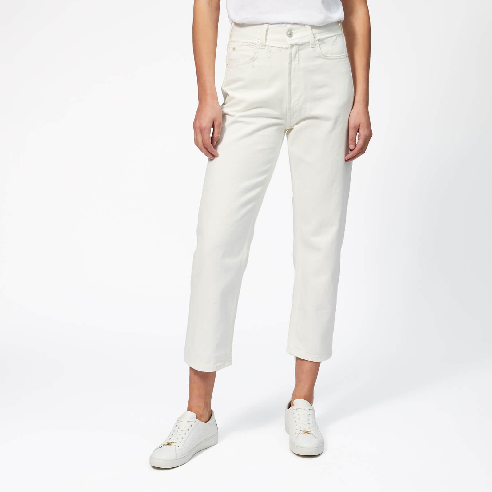 Whistles Women's Hollie Straight Leg Jeans - White - W30 - White