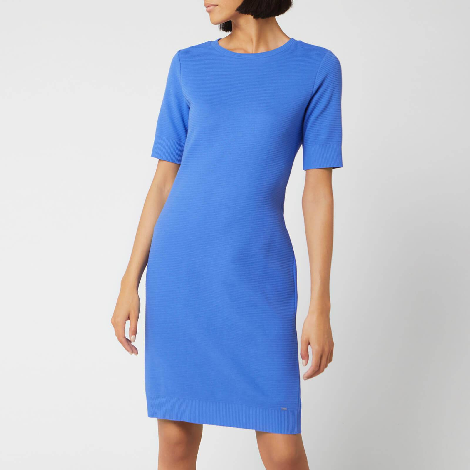 Boss Women's Dabutton Dress - Cornflower Blue - M