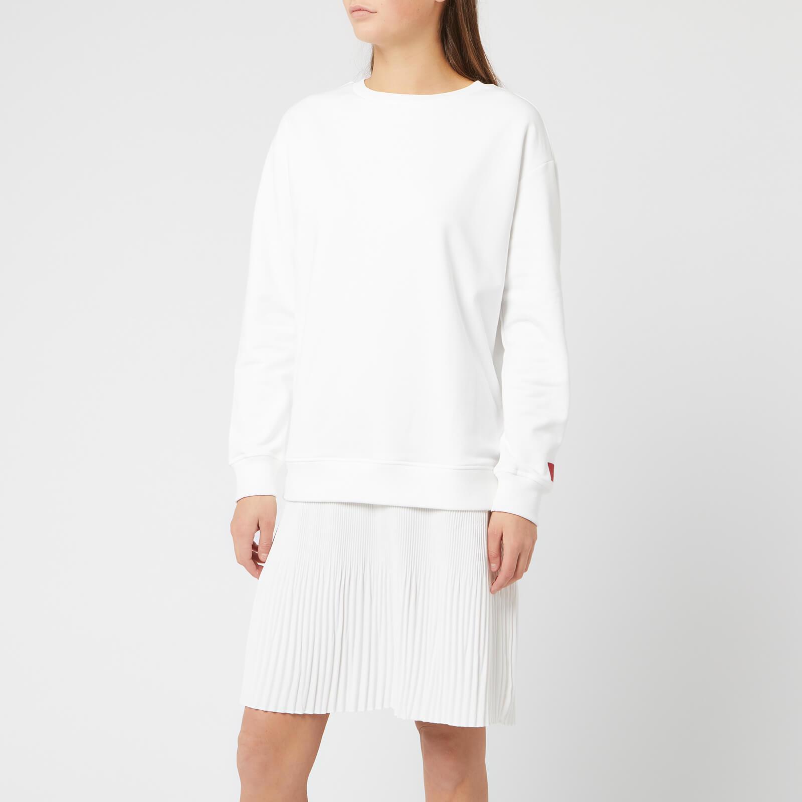 Hugo Boss Women's Nalotta Sweat Dress - Cream - S